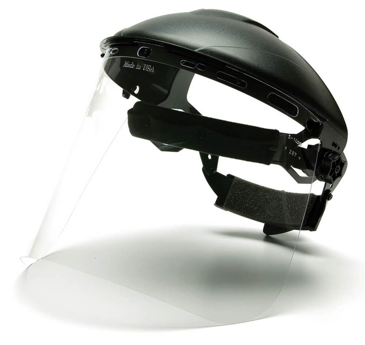 Ratchet Headgear with clear face shield  ** COLORS WILL VARY ***