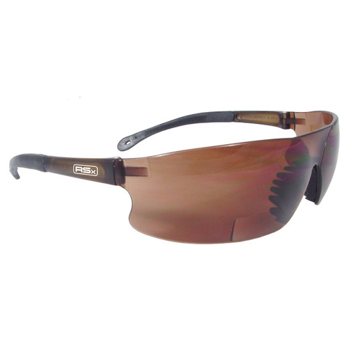 Radians® RAD-SEQUEL RSx Bi-Focal Safety Glasses Coffee Lens