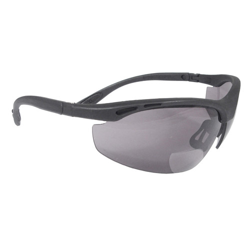Radians® Cheater RX Safety Glasses Smoke Lens