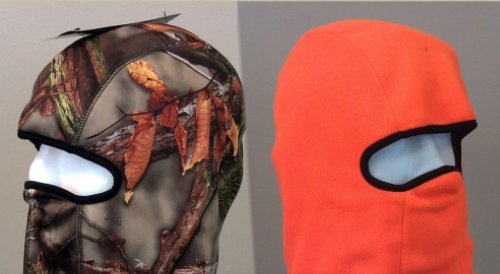 NTA Oak Tree Blaze Orange Reversible Balaclava