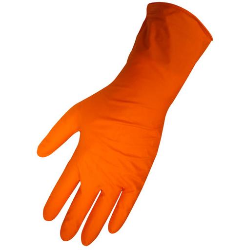 675PF Panther-Guard 6 mil Orange 100% Nitrile polymer box of 50