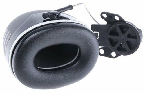 3M PELTOR Ear Muffs, Noise Protection, Hard Hat Attachment, NRR 31 dB, Construction, Manufacturing, Maintenance, Automotive, Woodworking, Heavy Engineering, Mining, X5P3E