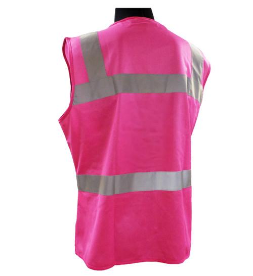 ERB Non-ANSI Hi-Vis Pink Female Safety Vest