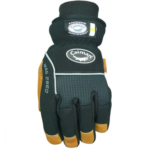 Caiman® 2960 Insulated Pigskin Leather Palm Gloves - FRONT