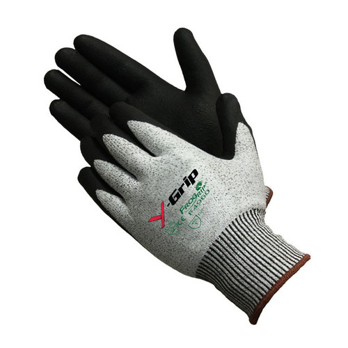 ANSI A4 - Y-GRIP Cut Resistant Polyurethane Coated Gloves