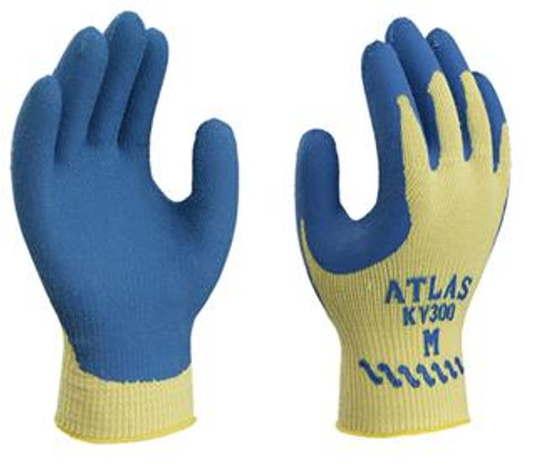 ANSI A3 -SHOWA ATLAS® Latex Palm Coated Cut Resistant Gloves