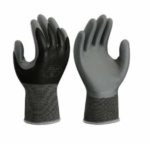 SHOWA ® 370BLK  Nitrile Tough® Palm Coated Nylon Gloves