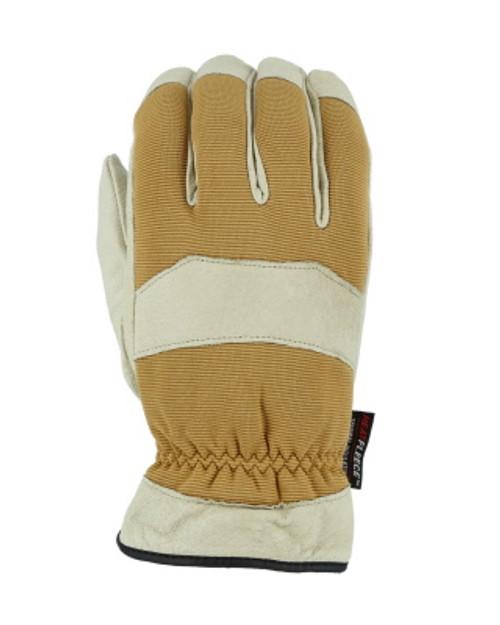 Majestic Glove 1572 Fleece Lined Top Grain Pigskin Work Glove