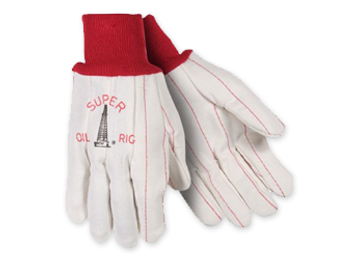 Southern Glove UPC195  Super Oil Rig Corded Gloves - 12 PAIRS