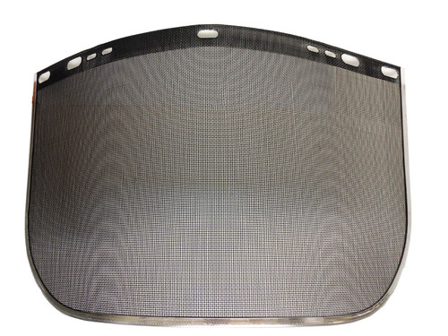 Jackson Safety®29081 Face Shields - Steel Mesh Protects against Flying Debris