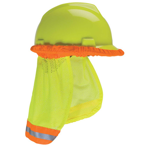 Hard Hat Sunshades - Hi-Vis Yellow