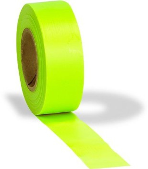 Fluorescent Glo Flagging Ribbon Lime Glo
