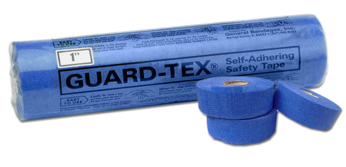 Guard-Tex® Blue Finger Tape Pack - 1""