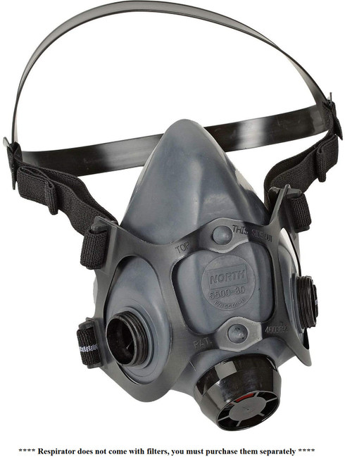 NORTH® 5500 Series Half Mask Respirators  ## NOS550030  ##