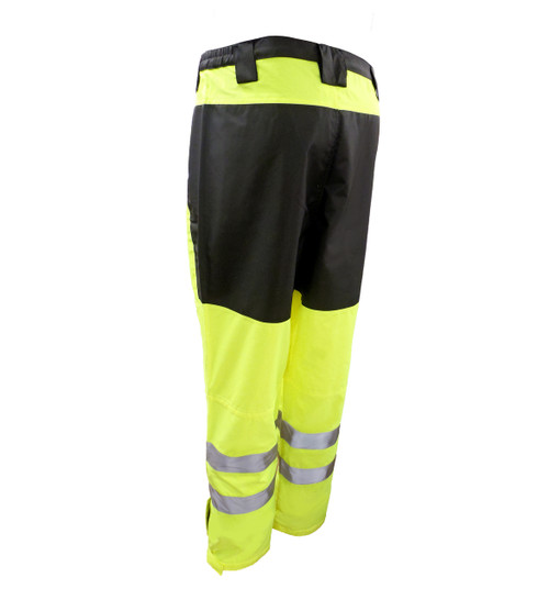 Heavy Duty Rain Pants Back