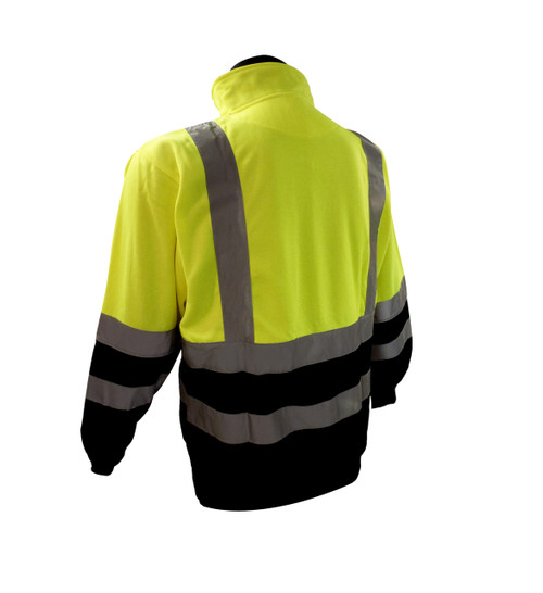 Forester Class 3 Hi-Vis 1/4 Zip Tricot Pullover