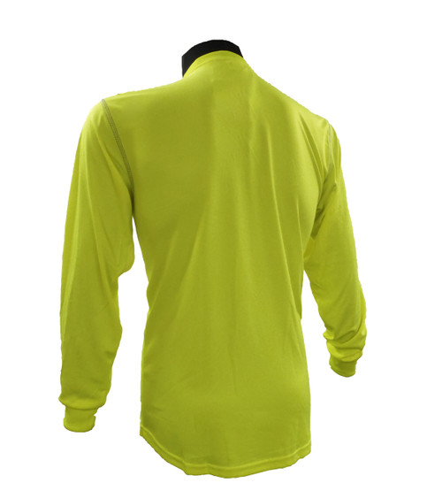 Hi-Vis Dri Knit® Long Sleeve Shirts Back