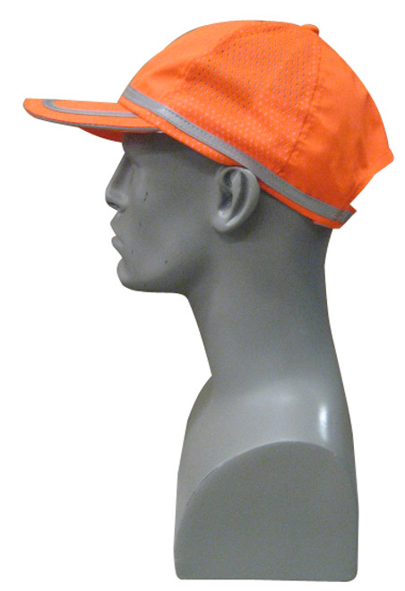 Hi-Vis Ball Caps - Safety Orange