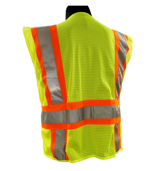 Forester® Two-tone Public Safety Vests Back