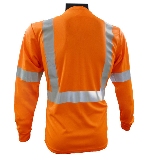 Class 2 Long Sleeve Shirt - Orange Back