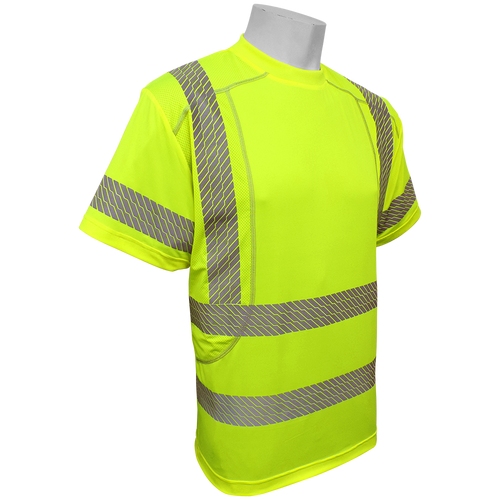 Frog Wear GLO-205 Hi-Vis Performance Stretch Short Sleeve Class 3 Shirt
