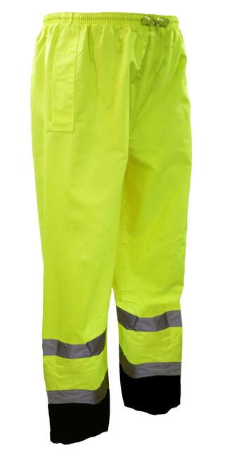 Class 3 Black Bottom Water Resistant Rain Suit  ## 7454G ##