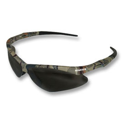 Jackson® Nemesis Camo Frame Safety Glasses Smoke Lens