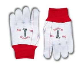 Double Palm Corded Gloves