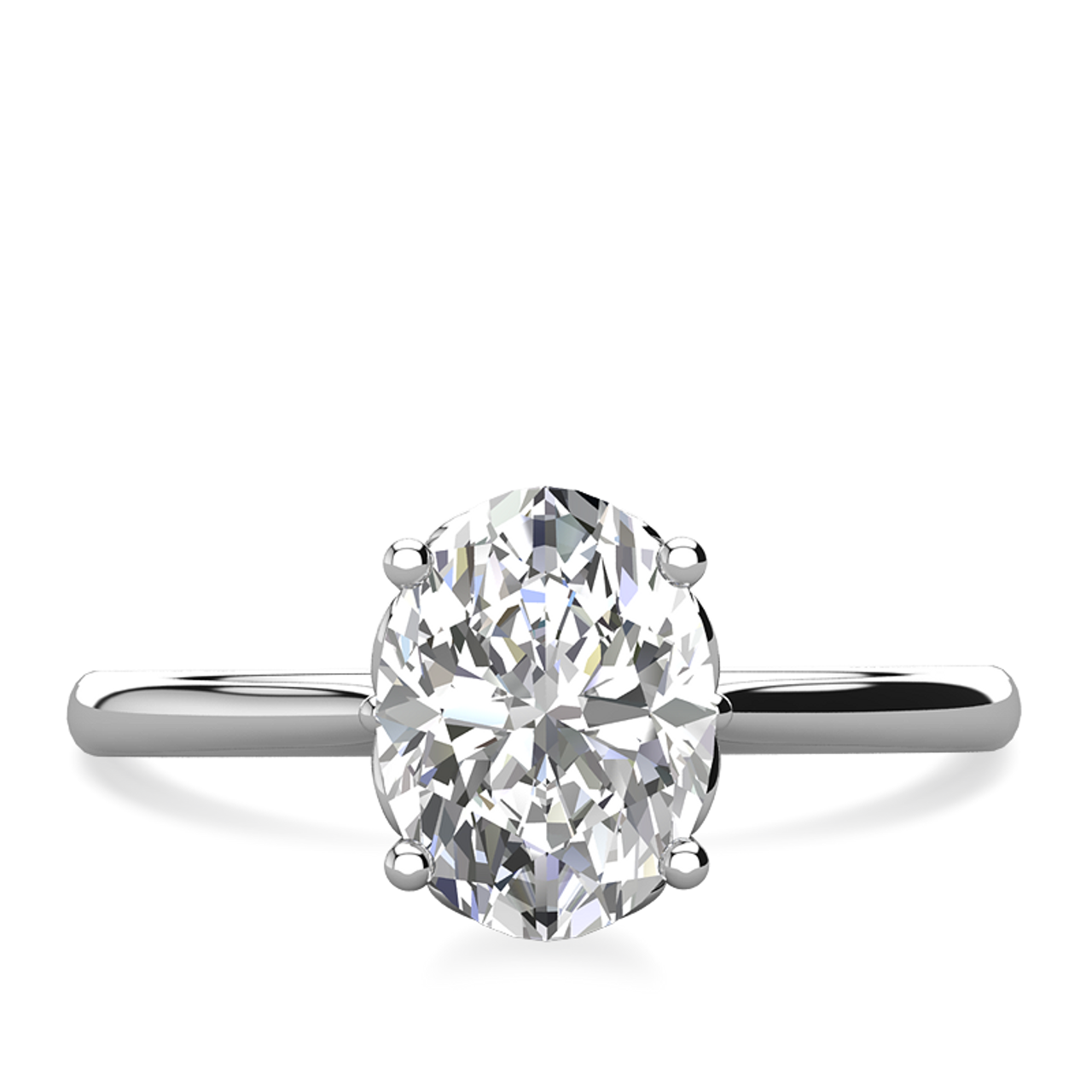 ee621a5e36d84 Lily Oval Cut Engagement Ring