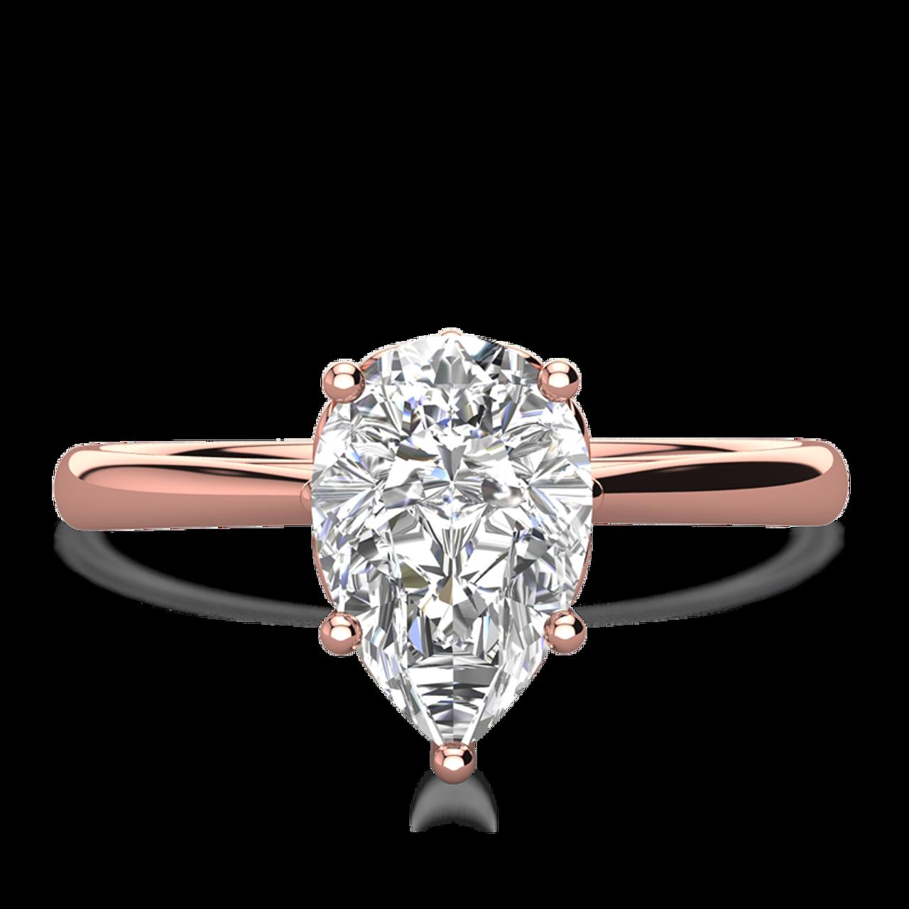ad3241b29b282 Lily Pear Cut Engagement Ring