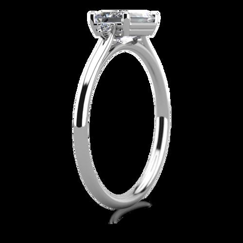 Laura Preshong Harriet Emerald Cut Engagement Ring