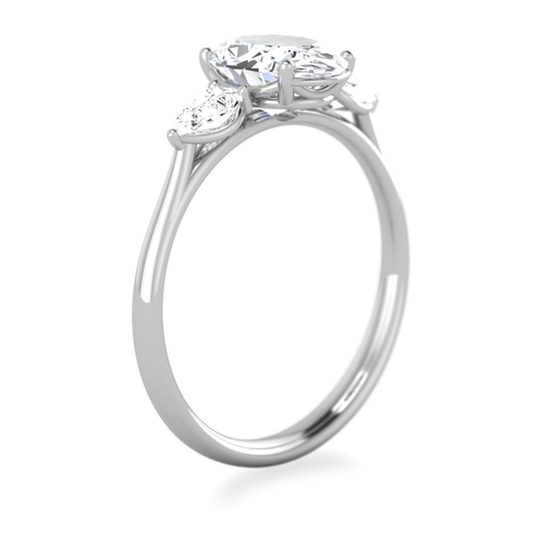 Mae Three Stone Engagement Ring Laura Preshong