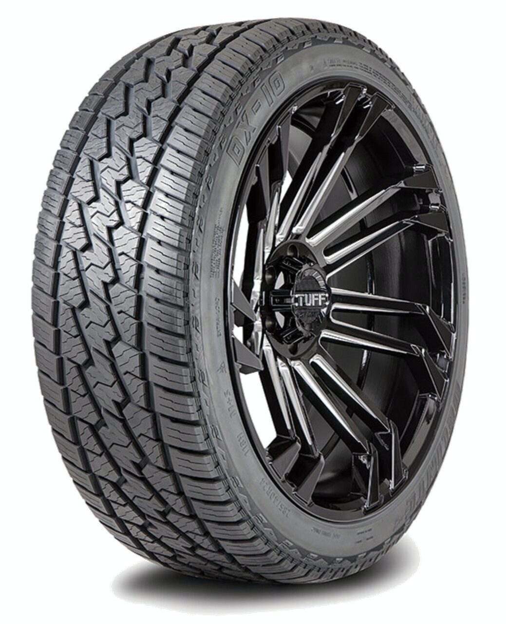 LT235/80R17 120/117Q E/10 DELINTE DX-10 AT BW