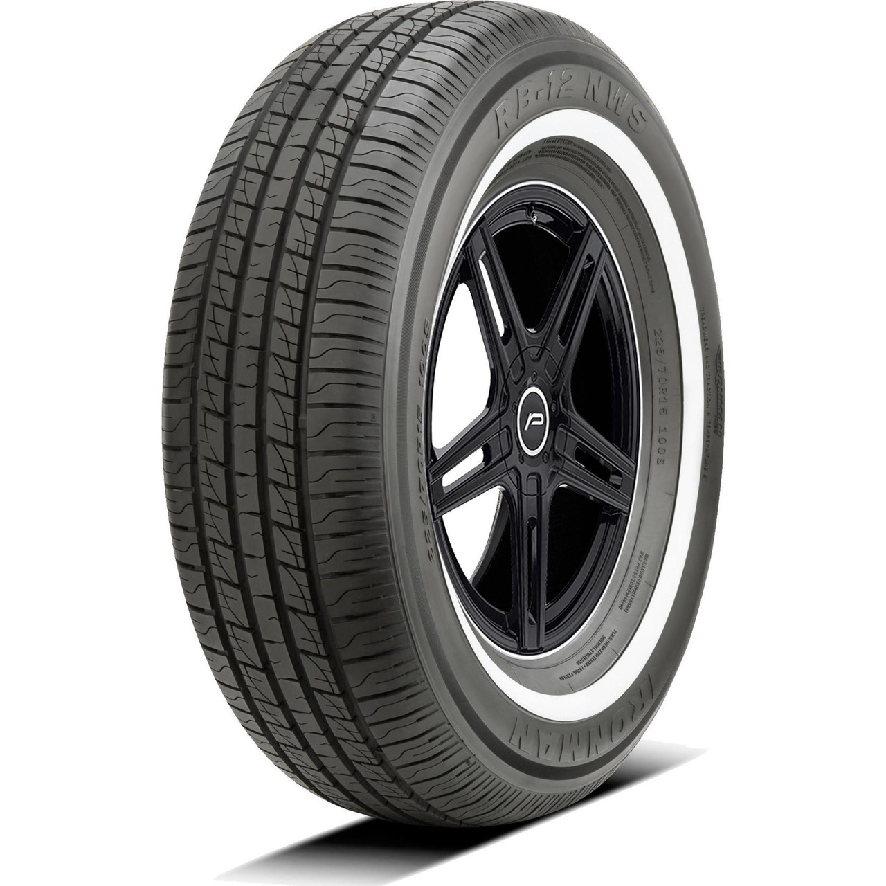 205/70R15 96S IRONMAN RB12 NWS WHITE WALL