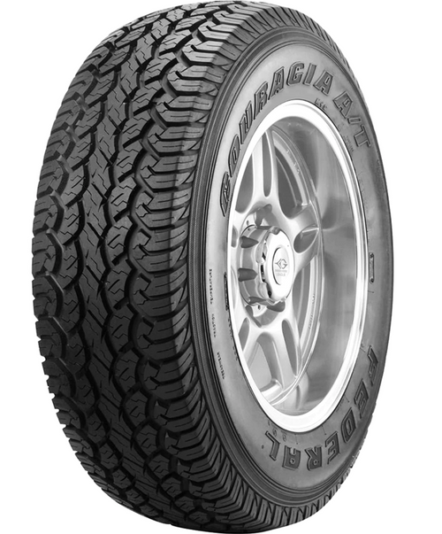 LT215/75R15 FEDERAL COURAGIA A/T 6PLY 100/97Q M+S OWL****30K*****