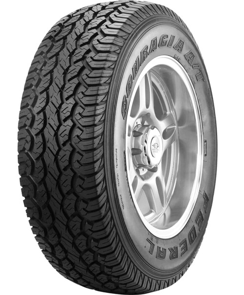 LT215/85R16 FEDERAL COURAGIA A/T 10PLY 115/112Q BSW****30K*****