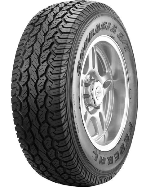 LT235/75R15 FEDERAL COURAGIA A/T 6PLY 104/101Q M+S OWL****30K*****