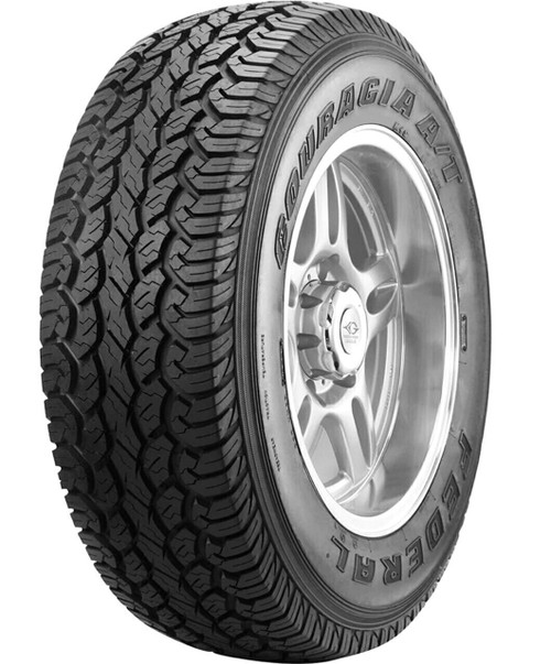 LT265/70R17 FEDERAL COURAGIA A/T 10PLY 121/118Q M+S OWL****30K*****