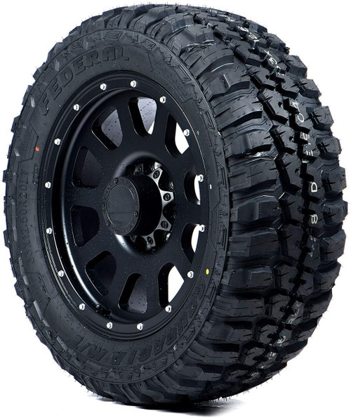 LT235/75R15 FEDERAL COURAGIA M/T 6PLY 104/101Q OWL M+S 50psi****30K*****