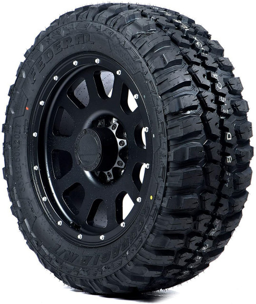 LT245/75R16 FEDERAL COURAGIA M/T 10PLY 120/116Q OWL M+S 80psi****30K*****