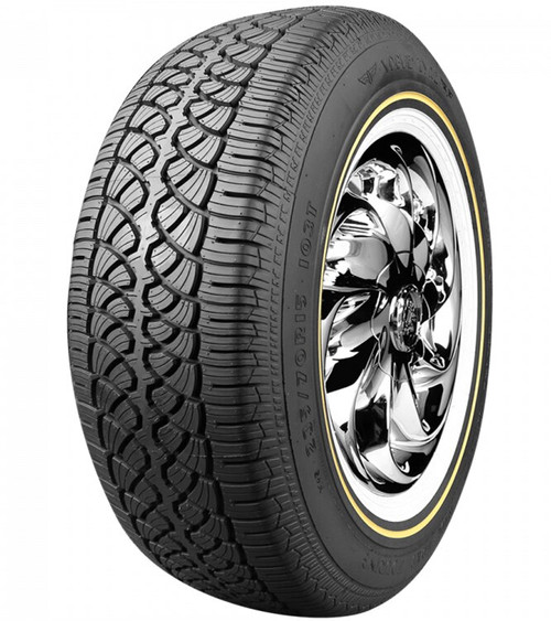 "235/70R15 VOGUE CBR VII-S 103T SL 500AB 1"" GOLD/WHITE WALL ***60K***"