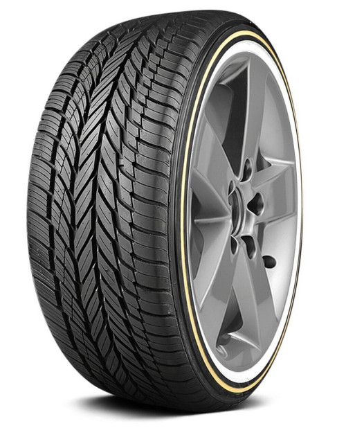 245/45R18 VOGUE CBR VIII-S 100V XL 460AA GOLD/WHITE WALL***60K***