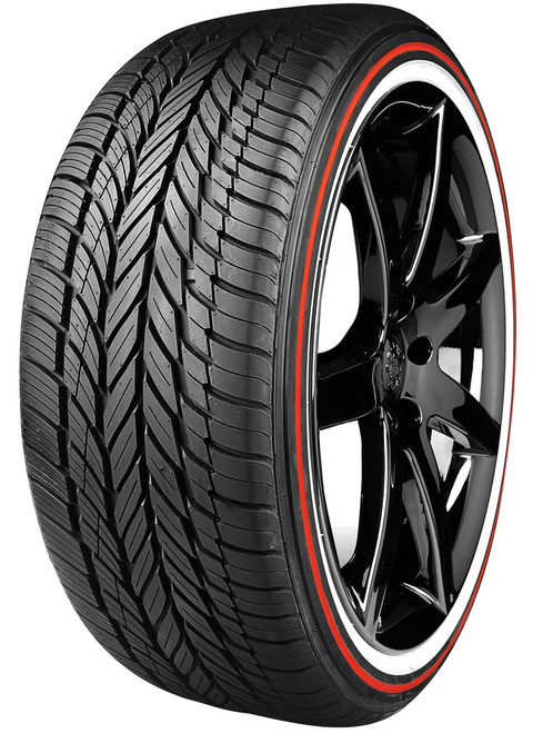235/55R17 VOGUE CUSTOM BUILT RADIAL VIII 99H SL RED STRIPE WHITE WALL 60K