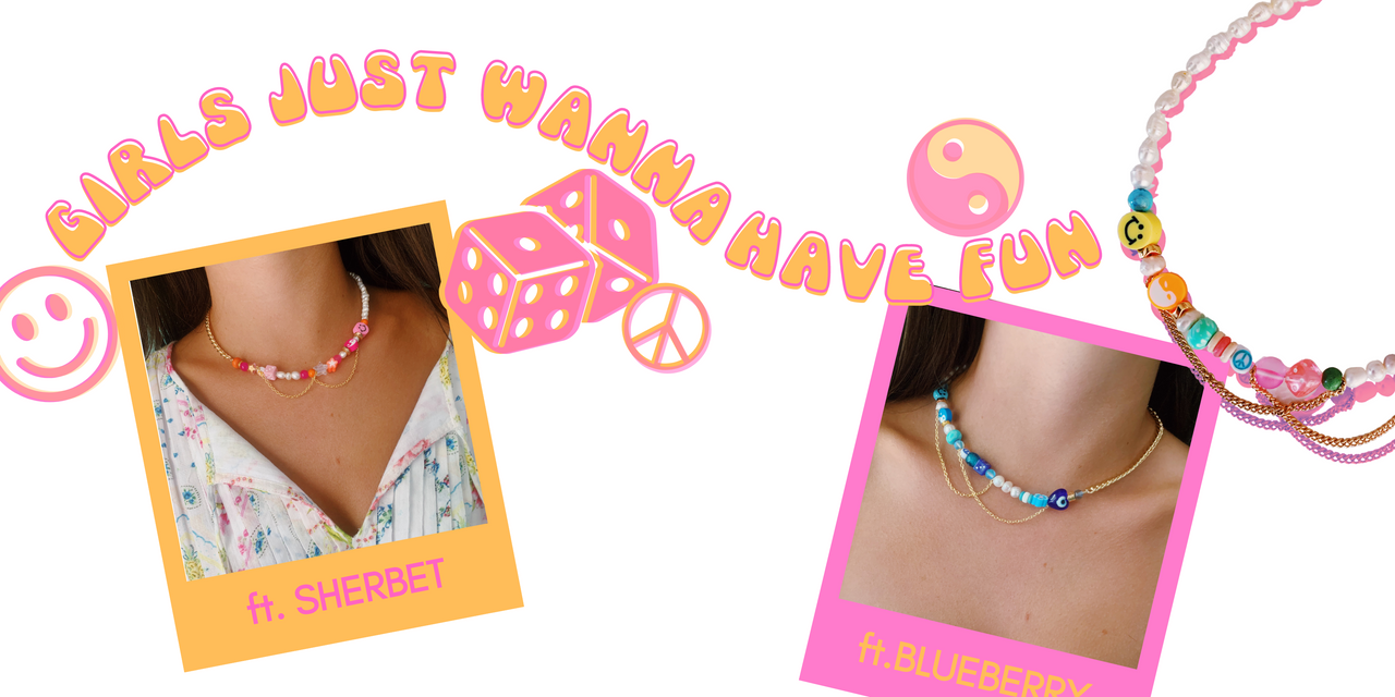 Just Wanna Have Fun Necklace