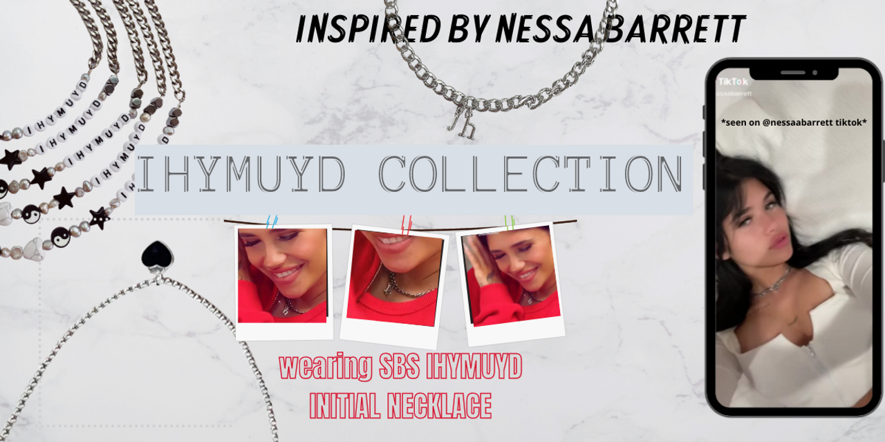 Nessa Barrett - IHYMUYD Jewelry