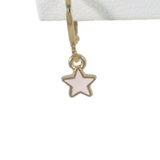 Close up of light pink baby star