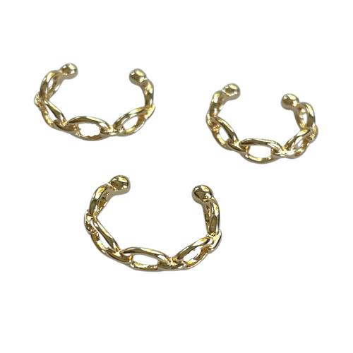 18K Link Ear Cuff