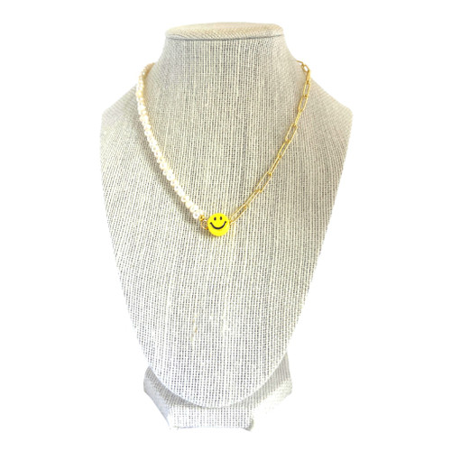 Happy Go Lucky Smile Necklace