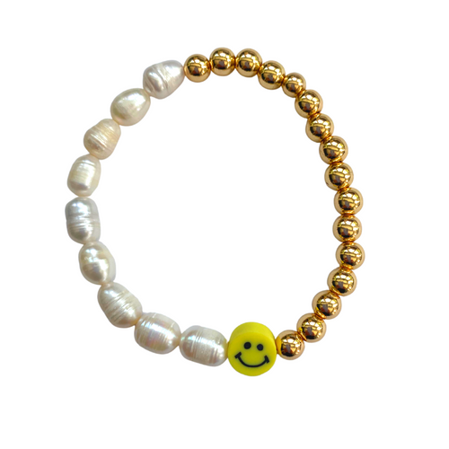 Happy Go Lucky Smile Bracelet