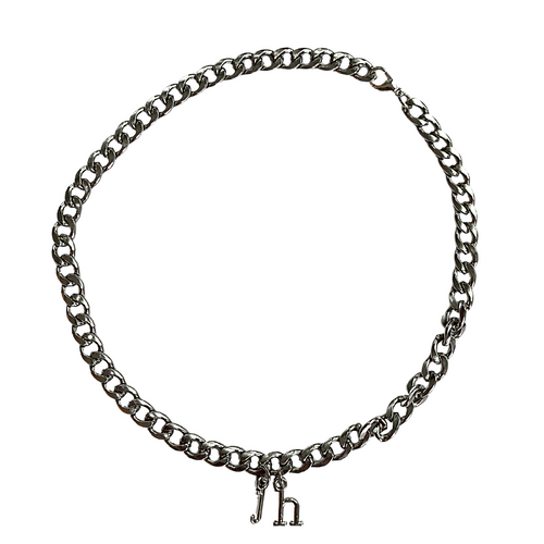IHYMUYD Silver Chain with Initials